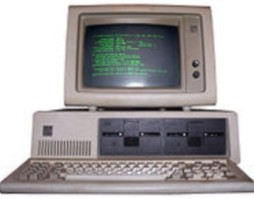 Antiguo ordenador IBM