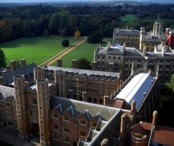 Vista de la prestigiosa Universidad de Cambridge