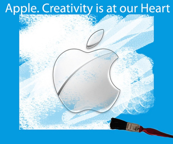 Dibujo del logotipo de Apple