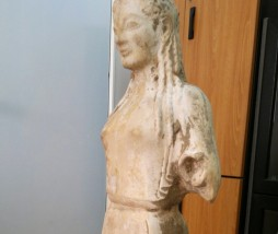 Estatua encontrada en Grecia
