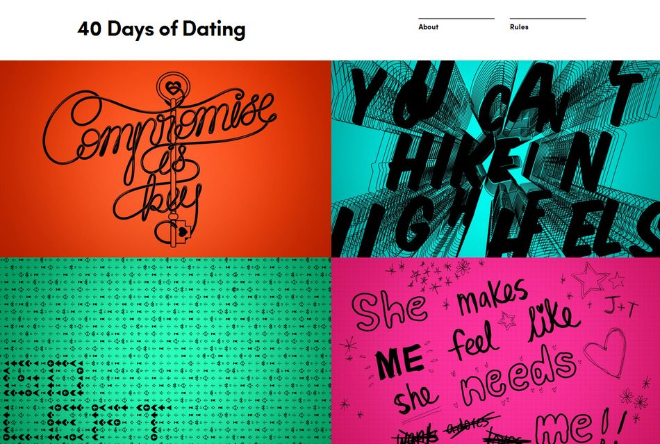 forty days of dating twitter login