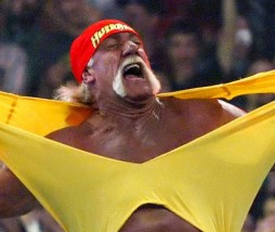 Hulk Hogan en el Pressing Catch