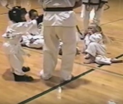 Vídeo de karate