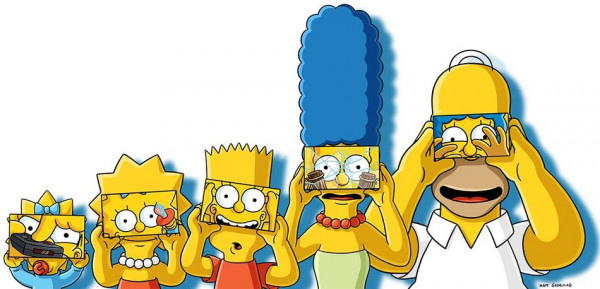 Realidad virtual en Los Simpson