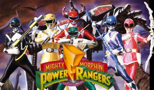 Los Power Rangers en Twitch