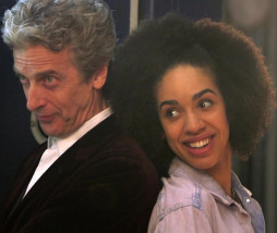 Bill Potts y Doctor Who