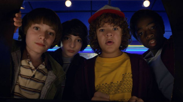 protagonistas de Stranger Things